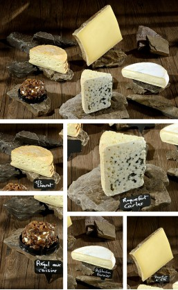 Assortiment 5 fromages de Deborah