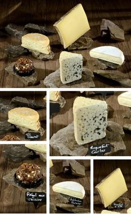 Assortiment 5 fromages de Sylvie