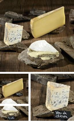 Assortiment 3 fromages de Lucas