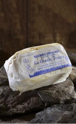 "Beurre motte 1/2 sel ""la grande prairie"""