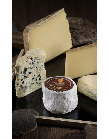 Assortiment 5 fromages les plus demandés