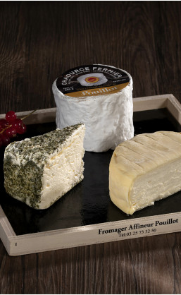 Assortiment fromages 6 personnes 800g