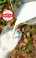 Brique de lait UHT demi-écrémé (Drive Ecrevolles uniquement)