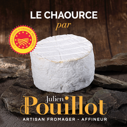 Chaource fermier - Fromagerie Pouillot affineur