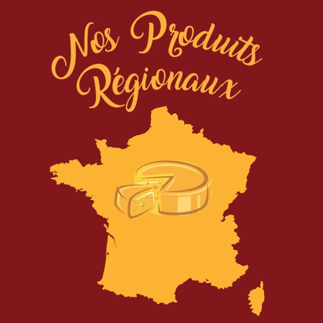 Nos Produits Régionnaux